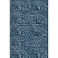 Handmade Posh Light Blue Shag Rug (8' x 10')