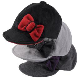 Journee Collection Women's Fleece Cap with Side Bow