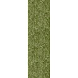 "Handmade Posh Apple Green Shag Rug (2'3"" x 8')"