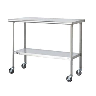 Trinity Stainless Steel Table with Caster Kit