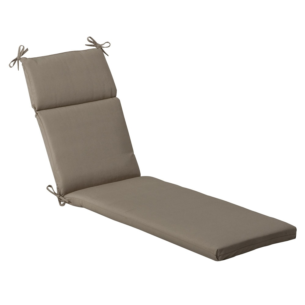 Pillow Perfect Outdoor Beige Solid Chaise Lounge Cushion at Sears.com