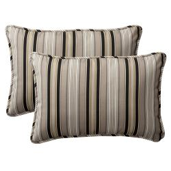 Black Outdoor Cushions & Pillows | Overstock.com Shopping - Big ...