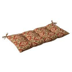 Pillow Perfect Outdoor/ Indoor Shoreham Red Swing/ Bench Cushion