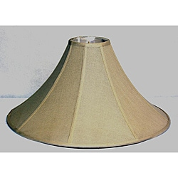 Beige Linen Coolie Large Shade