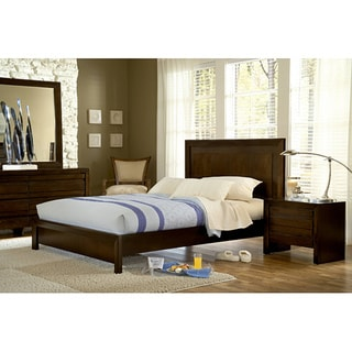 4 piece finger pull california king size bedroom set