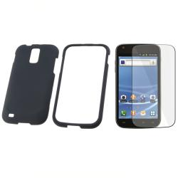 Black Case/ Screen Protector for Samsung Galaxy S II T989
