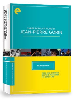Eclipse Series 31: Three Popular Films by Jean-Pierre Gorin (DVD)