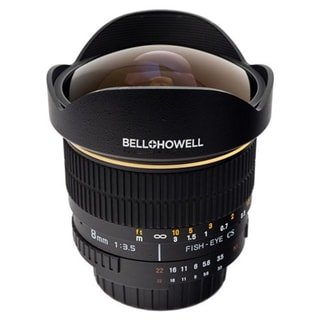 Bell+Howell BH8M-C 8 mm f/3.5 Fisheye Lens for Canon EF/EF-S