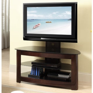 Espresso 42-inch TV Stand with Removable Mount