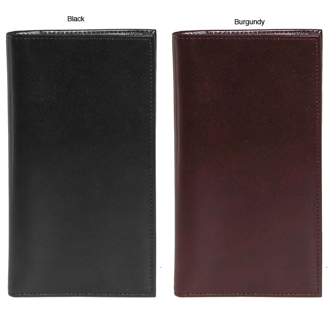 Buxton Verona Polished-cowhide Lined-interior Passport Folio