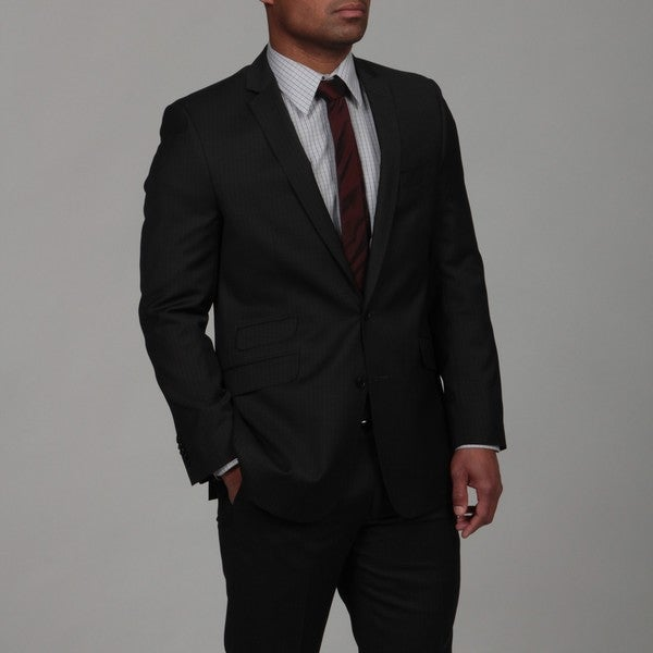Ben Sherman Men's Slim Fit 2-button Wool Suit FINAL SALE