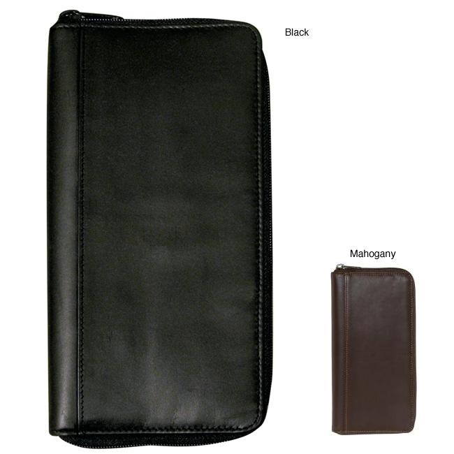 Dopp Regatta Oil-tanned-cowhide Passport Organizer with Zipper