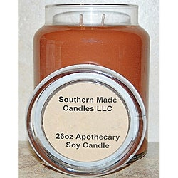 Southern Made Candles Soy 26-oz Baked Apple Pie Apothecary Candle
