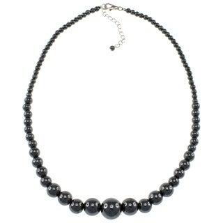 Pearlz Ocean Hematite Journey Necklace