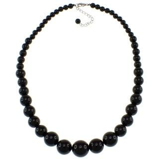 Pearlz Ocean Black Onyx Journey Necklace