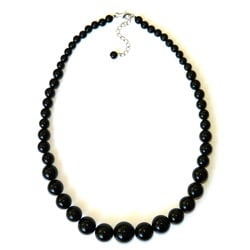Pearlz Ocean Black Onyx Journey Necklace