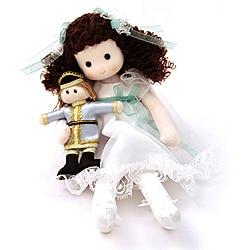 Clara Nutcracker Collectible Musical Doll