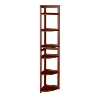 "67"" High Corner Flip Flop Folding Bookcase"