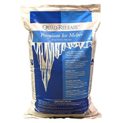 Spring Valley USA MQR50 Quad Release Premium Ice Melter with Pattern Indicator, 50-pound Bag