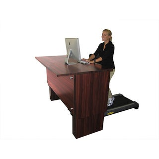 Signature Mahogany S300 Executive Treadmill Desk