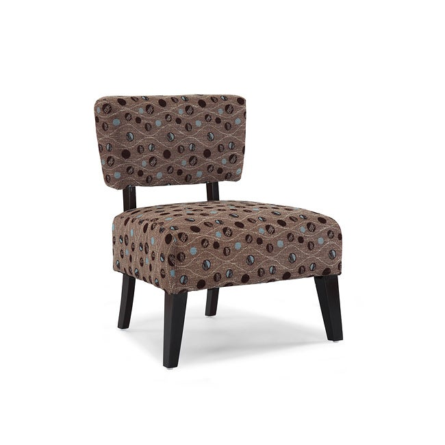 Delano Brown Sphere Accent Chair