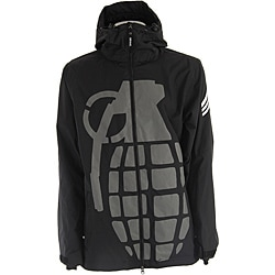 Grenade Men's Grey Exploiter Snowboard Jacket