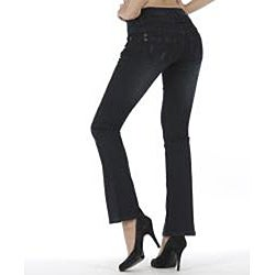 MDZ Women's 'Heidi' Black Bootcut Denim Jeans