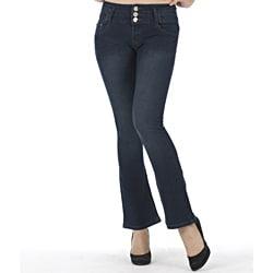 MDZ Women's 'Heidi' Dark Wash Bootcut Jeans