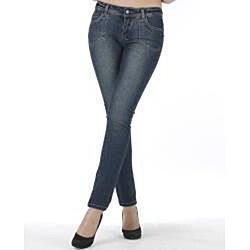 MDZ Women's Lynn Dark Skinny Jeans