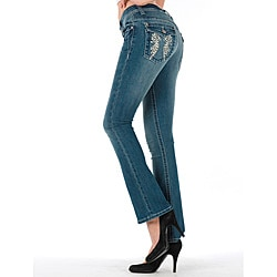 MDZ Women's 'Kloe' Medium Wash Bootcut Jeans
