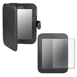 Leather Case/ Screen Protector for Barnes & Noble Nook 2