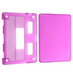 Clear Purple Snap-on Case for Apple MacBook Pro 13-inch