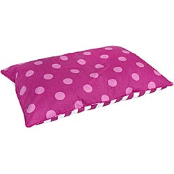 Boxer Medium Pink Dots Dog Bed (30 x 42)
