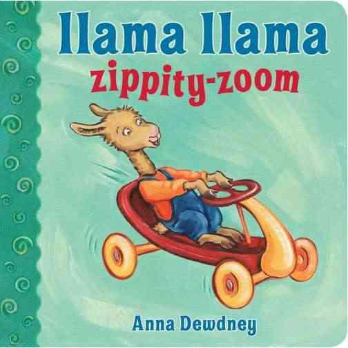 Llama Llama Zippity-Zoom (Board book)