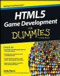HTML5 Game Development For Dummies (Paperback)