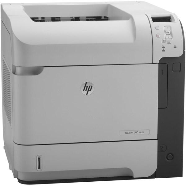 HP LaserJet 600 M601DN Laser Printer - Monochrome - 1200 x 1200 dpi P