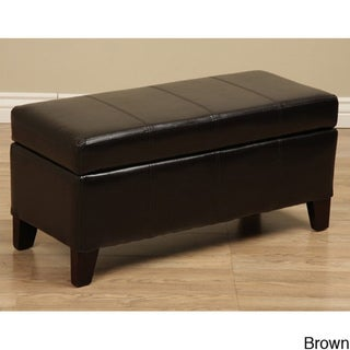 Warehouse Tiffany Ariel Storage Bench