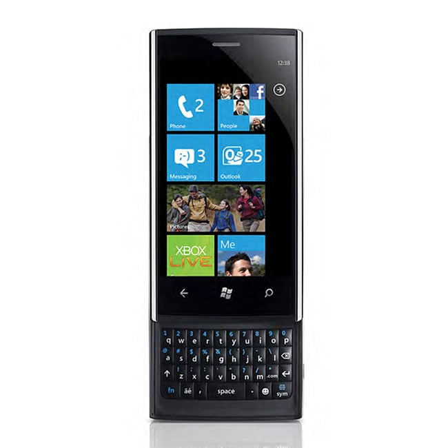 Dell Venue Pro 8GB Unlocked GSM Windows 7.5 Slider Cell Phone