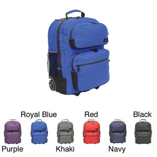 Western Pack Bookmobile 17-inch Rolling Laptop Backpack