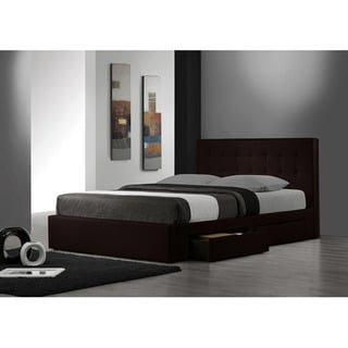 Belmont Espresso King-size Storage Bed