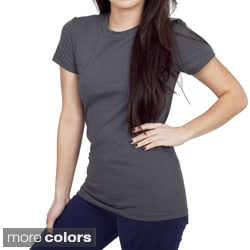 American Apparel Women's Fine Cotton Jersey Tee