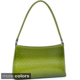 Dasein Snake Skin Embossed Shoulder Bag