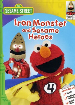 Sesame Street: Iron Monster And Sesame Heroes (DVD)