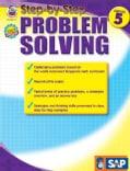 Step-by-Step Problem Solving, Grade 5 (Paperback)