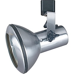 Bright Single Head Satin Nickel Track Light