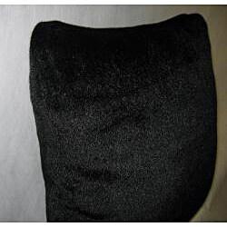 Fuzzy Faux Fur 18x18 Decorative Pillow