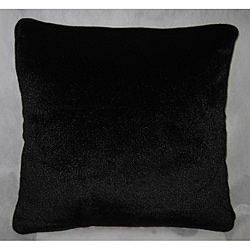 Fuzzy Faux Fur 18x18 Decorative Pillow
