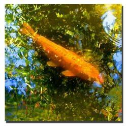 Amy Vangsvard 'Koi Fish' Canvas Art