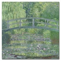 Claude Monet 'The Waterylily Pond 1899' Canvas Art