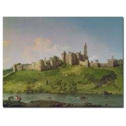 Canaletto 'Alnwick Castle' Canvas Art
